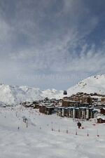 Val Thorens 3 Valleys Alps France mountain landscape photo picture poster print