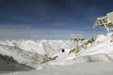 Val Thorens Les Trois Vallees ski area France photograph picture poster print