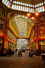 Leadenhall Market, City of London England photograph picture print by AE Photo