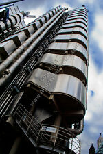 Lloyds Building in the City of London, England photograph picture poster print