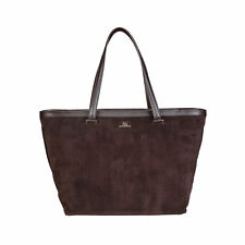 CAVALLI CLASS - BORSA DONNA - SHOPPING BAG - DARK BROWN