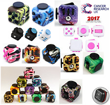 NEW Fidget Cube Stress Anxiety Relief ADD ADHD ACTUAL 2017 UK SELLER! B.2.G.1.F