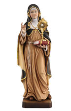 Saint Clare statue wood carved