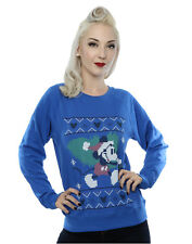 Disney Femme Mickey Mouse Christmas Tree Sweat-Shirt