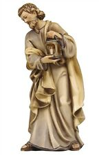 Saint Joseph statue wood carving, for Nativity set mod. 912