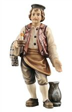 Innkeeper, statue wood carving for Nativity set mod. 912