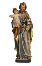 Saint Joseph with Child statue wood carved