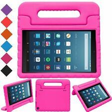Child Safe EVA Foam Shock Proof Handle Stand Case Cover For Kindle Fire HD8'