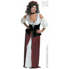 Ladies Tavern Wench Costume Wench Bartender Medieval Fancy Dress Cosplay Outfit