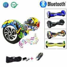 NUOVO HOVERBOARD 8'' LUCI LED BLUETOOTH MONOPATTINO ELETTRICO SCOOTER LU