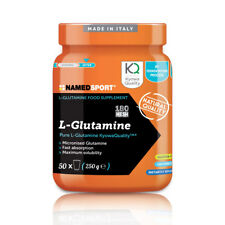"NAMED SPORT L-GLUTAMINE 250g. Kyowa "" Integratore in polvere di L-Glutammina Kyo"