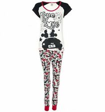 Official Women's Disney Mickey And Minnie Mouse True Love Pyjamas