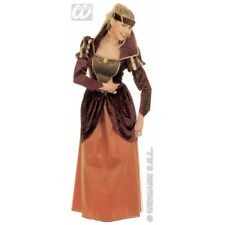 Ladies Medieval Queen Costume Historic Ancient Middle Ages Fancy Dress Outfit