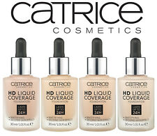 Catrice  HD Liquid Coverage Foundation  30ml ~~ Please Choose Shade
