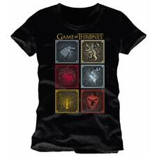 Game of Thrones Badges Of The King Maglietta T-Shirt