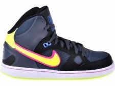 SCARPE UOMO/DONNA NIKE SON OF FORCE MID GS 615158 010 NERO STIVALETTO air force