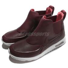 Nike Wmns Air Max Thea Mid Night Maroon White Women Shoes Sneakers 859550-600