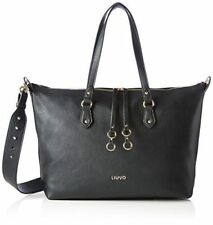 BORSA LIU JO A67122 E0033 SHOPPING BAG SHOPPER NERO BLACK ORIGINALE NUOVA