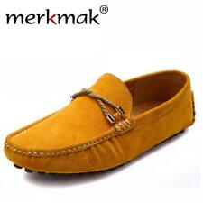 Comfortable soft Men loafers brand casual shoes driving men flats handmade