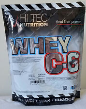 HI-TEC NUTRITION - Whey C-6 - 1000g / POWDER Whey PROTEIN Shake ***BEST PRICE***