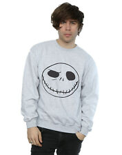 Disney Homme Nightmare Before Christmas Jack's Big Face Sweat-Shirt