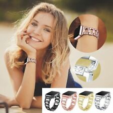 Stainless Steel Crystal Bracelet Band Strap Apple Watch Series 1/2/3 42/38 mm