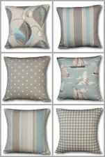 Cushion Cover - Taupe, Duck Egg.Clarke & Clarke, Laura Ashley, Stripe,Check,Boat