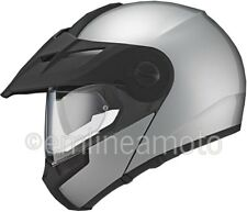 Casco Apribile Off-Road Schuberth E1 Glossy Silver