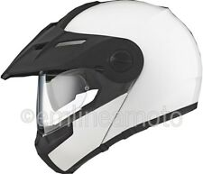 Casco Apribile Off-Road Schuberth E1 Glossy White