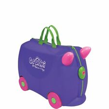 Melissa & Doug Trunki Iris Rolling Kids Luggage (Purple)