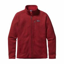 Fleece Uomo PATAGONIA BETTER SWEATER - col.classic red
