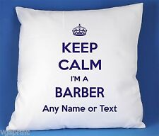 Keep Calm I'm A Barber SATIN LUXE polyester