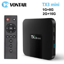 Android 7.1 TV BOX 2GB16GB Amlogic S905W Quad Core Suppot H.265 4K