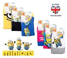 LADIES DESPICABLE ME MINION CHARACTER NOVELTY SOCKS 6 DESIGNS Bello! UhOh UK 4-8