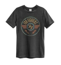 Amplified FOO FIGHTERS FF Air T-shirt CARBONE BANDA MAGLIA tg.s-xxl