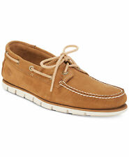 Timberland Men's Shoes Moccasins Loafers Hommes Suede Tan Brown TB0A1HAF