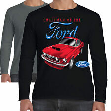 hommes FORD MUSTANG T-shirt manches longues Président classique AMERICAN MUSCLE