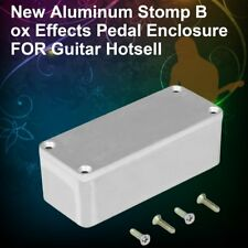 Portable Aluminum Musical Instruments Kit Cable Stomp Box Effects Pedal ED