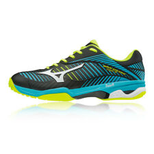 Mizuno Mens Wave Exceed Tour 3 All Court Tennis Shoes Black Blue Sports