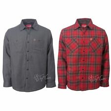 NWT Coleman Men's Classic Fit Warm Sherpa Lined Flannel Shirt Jacket MSRP $100