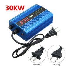 30KW DIGITAL LED DISPLAY VOLTAGE POWER ENERGY SAVER BOX SAVING ENERGY UP TO 35