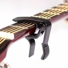 ACOUSTIC ELECTRIC GUITAR METAL QUICK RELEASE CHANGE TRIGGER TUNE KEY CAPO CLAMP