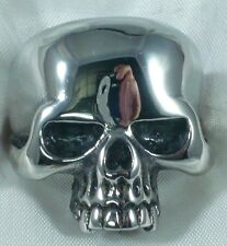 ANILLO CALAVERA DE PLATA 925 STERLING SILVER KEITH RICHARD SKULL RING 1