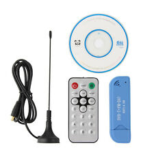 NEW RTL2832U+R820T2 2.0 Digital DVB-T SDR+DAB+FM HDTV TV Tuner Receiver Stick ED