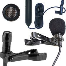 Mini clip on Vocal / STRUMENTO MICROFONO 3 Pin XLR SPINOTTO MASCHIO 48V phantom