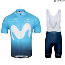 Team Movistar 2018 Cycling Jersey and Bib Shorts Set (UK SELLER)