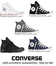 NEUF CONVERSE ALL STAR OX CT montante baskets en toile blanches noires