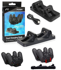 Charging Dock Dual USB Stand Station Holder for Playstation 4 PS4 Controller SY
