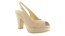 Sandalo donna - made in Italy - Joel 1601 pelle/camoscio beige