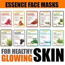 Face Facial Sheet Collagen Mask Skin Care Essential Oil Korean Korea Beauty